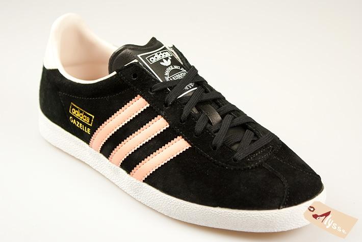 تداخل شجاع مارجريت ميتشل look femme basket gazelle adidas noir ...