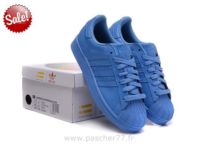 adidas superstar couleur bleu