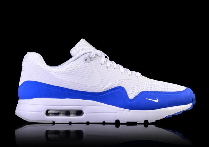 air max blanche et bleu